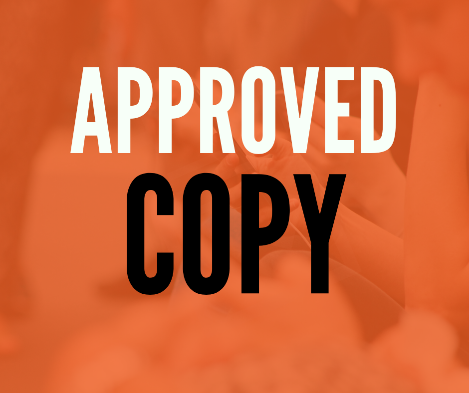 approved copy